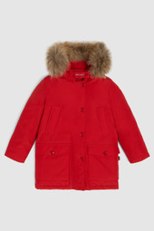 Parka With Detachable Fur