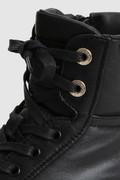 Sneakers Classic Court mi-hautes en cuir nappa rembourré
