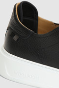 Tumbled leather Classic Court sneakers