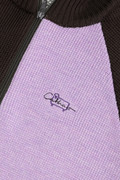 Maglione zip-up in lana merino Daniëlle Cathari
