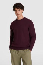 Pull en laine à col rond