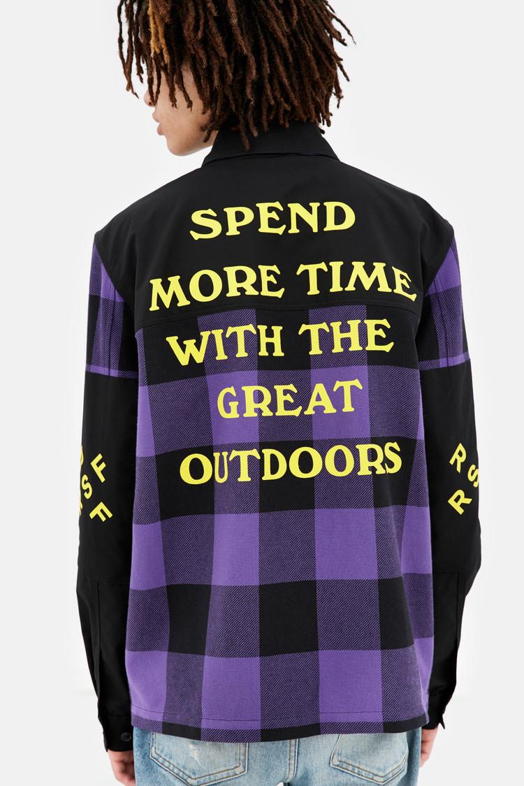 Woolrich x RSF Buffalo Check Overshirt
