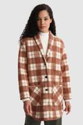 Mantel Gentry aus Schurwollmischung