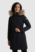 Yetna Long Parka with removable fur