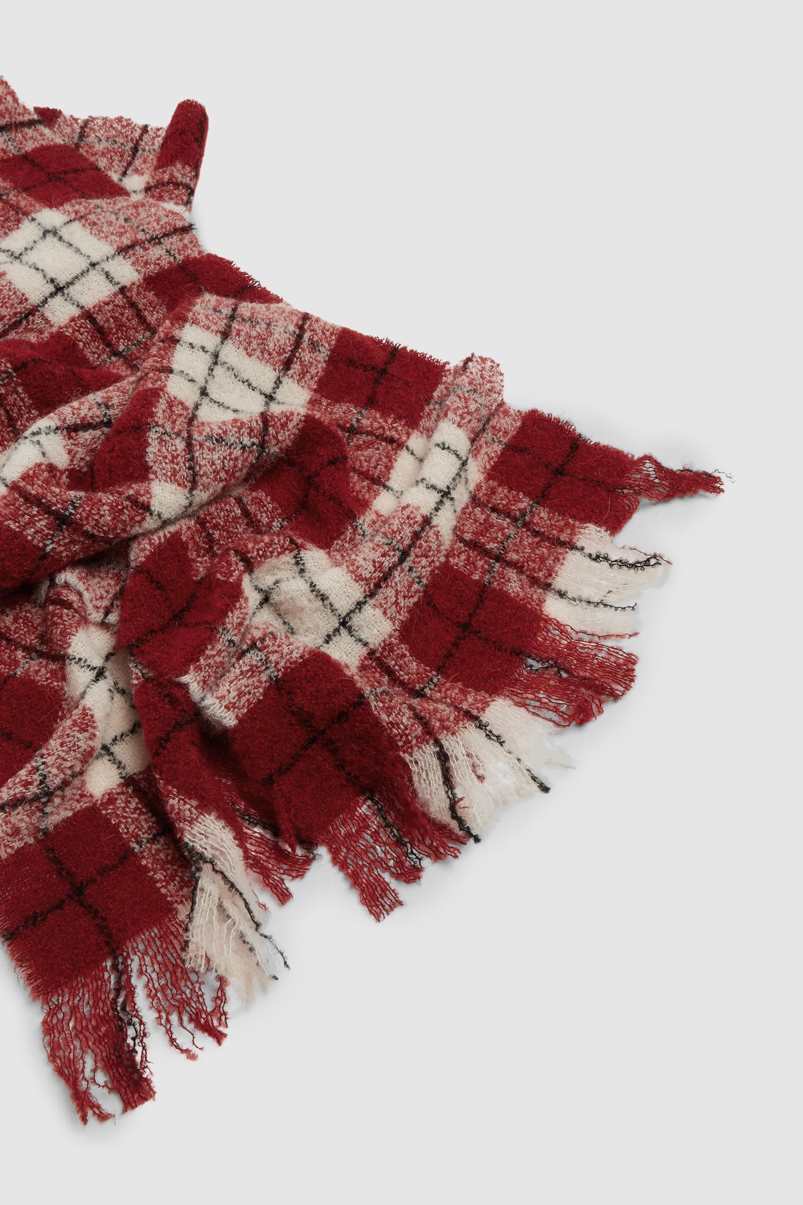 Bouclé Wool Scarf